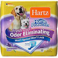 Пелёнки для собак и щенков с запахом лаванды Hartz Odor Eliminating Dog Pads