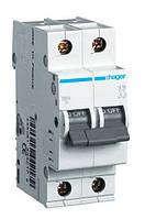 Автоматический выключатель 2P 6kA C-0.5A 2M Hager, фото 1