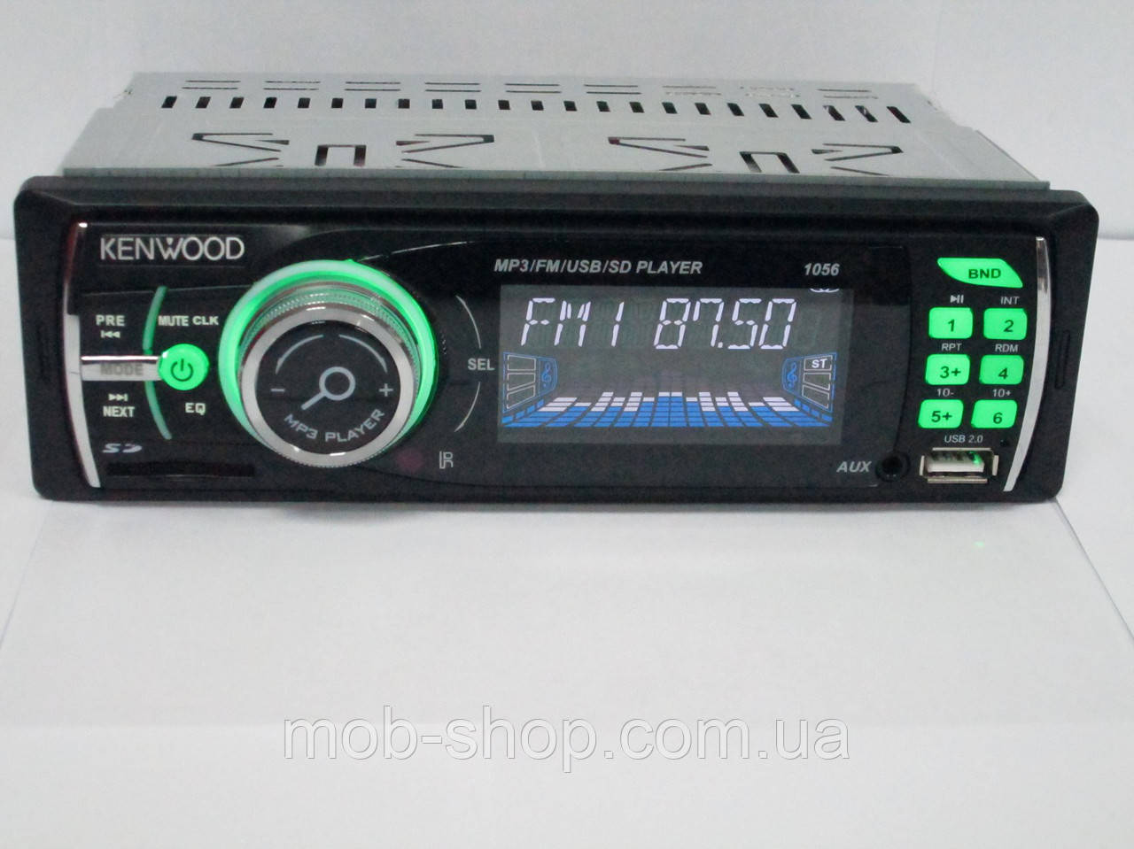 Автомагнитола Kenwood 1056 USB+SD+AUX (4x50W)