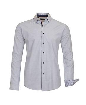 Рубашка мужская Karol Серая, фото 2