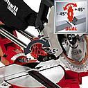 Пила торцовочная Einhell TE-SM2534 Dual Expert, фото 2