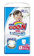 Трусики-подгузники GOO.N для девочек 9-14 кг размер L, 44 шт(853628)