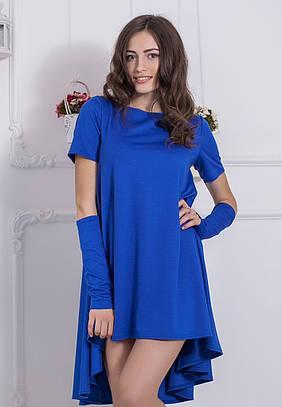 Жіноче синє вечірнє плаття Veronika (XS-XXL)