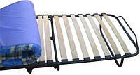 Раскладушка AllSet на ламелях с матрасом 6 см 195x75x30 см