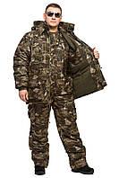 """Теплый костюм """"Клетка"""" М54"""" для охоты зимней рыбалки  размер 48-50"""