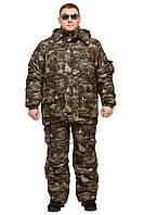 """Теплый костюм """"Клетка"""" М54"""" для охоты зимней рыбалки (в наличии все размеры 44-66)"""