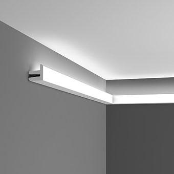 Лепнина Орак декор C380 Карниз для скрытого освещения Orac Luxxus