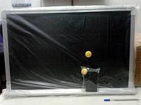 Доска-магнит с магнитами и губкой, 60х39см., фото 1