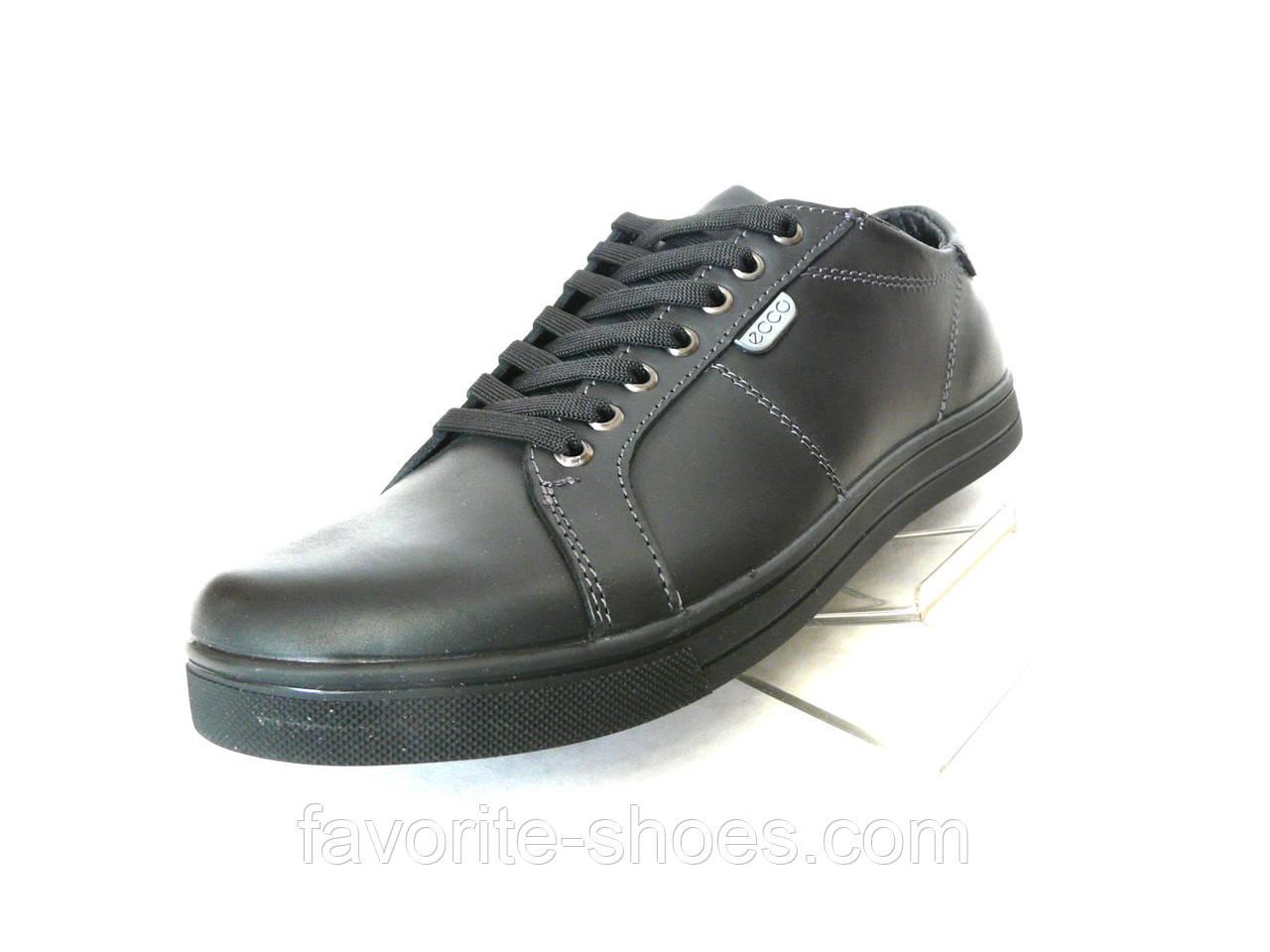 df293719 Кожаные мужские кроссовки ecco чер. t 23: продажа, цена в Полтавской ...