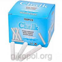 """Мел белый """"Chalk"""", круглый 100шт."""