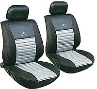 Передние чехлы сидений MILEX Tango серые