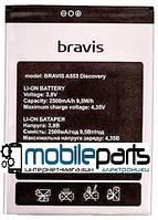 Оригинальный аккумулятор АКБ (Батарея) для Bravis A553 Discovery (Li-ion 3.8V 2500mAh)