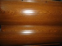 Металлический сайдинг блок хаус (имитация бревна, сруба, бруса)