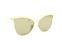 Модные женские солнцезащитные очки хаки