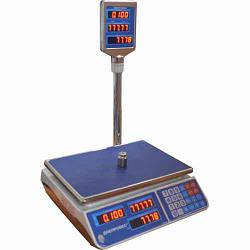 Торговые электронные весы F902H 3EL увеличенная платформа и клавиатура