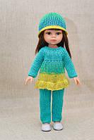 Костюм голубой Handmade для кукол Paola Reina, 32 см