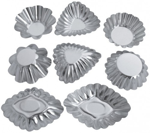 Набор форм для выпечки 8шт Галетте -06279