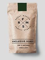 Зерновой кофе Family Studio купаж 80/20 для ресторанов, кафе и домашнего использования