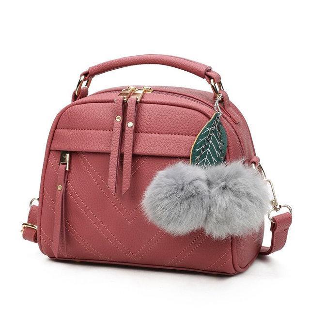 Небольшая женская сумка через плечо с ручкой. Розовая сумочка. Женские сумки. Сумки и клатчи.