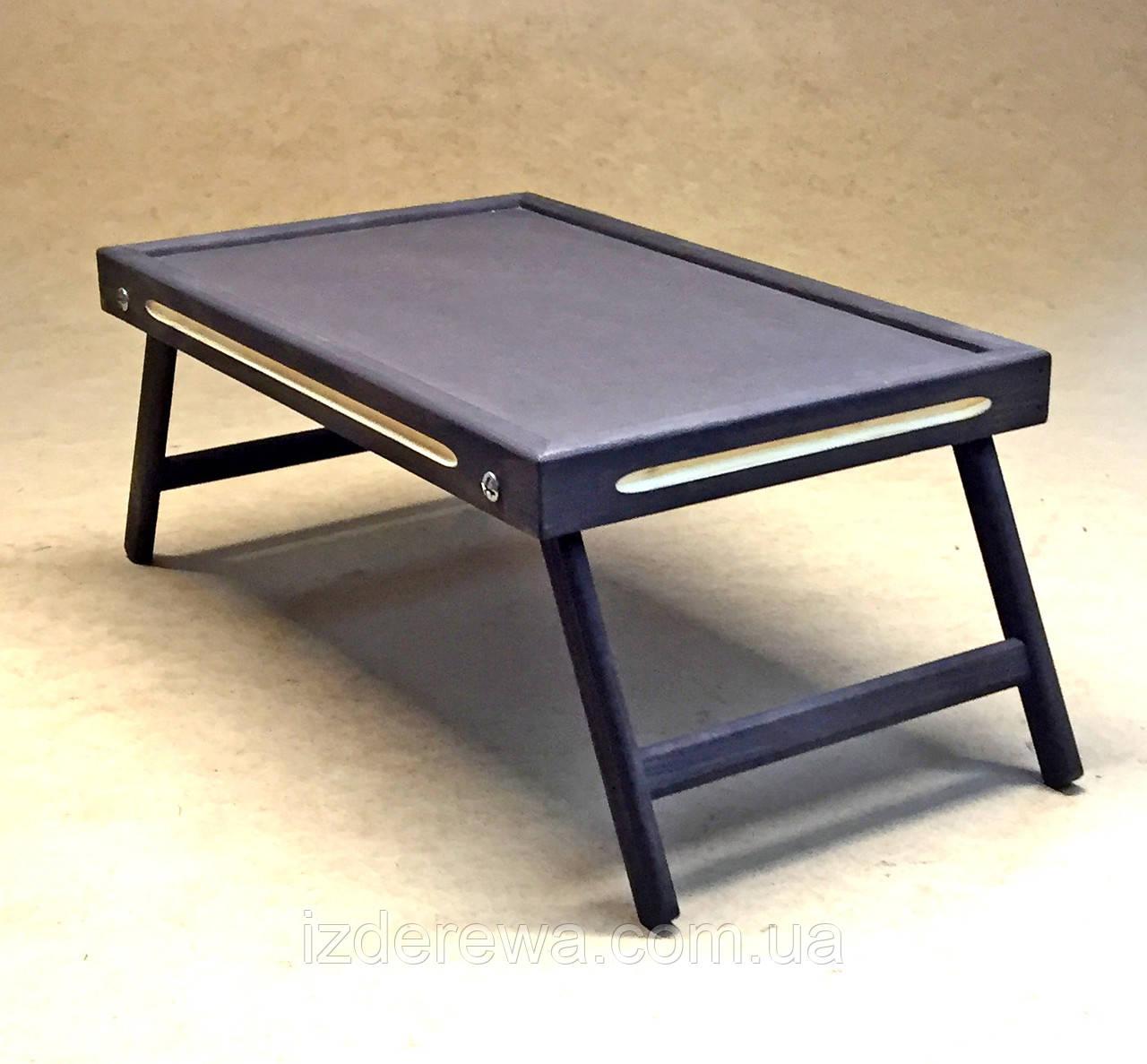 Столик-поднос для завтрака Даллас графит - фото 1