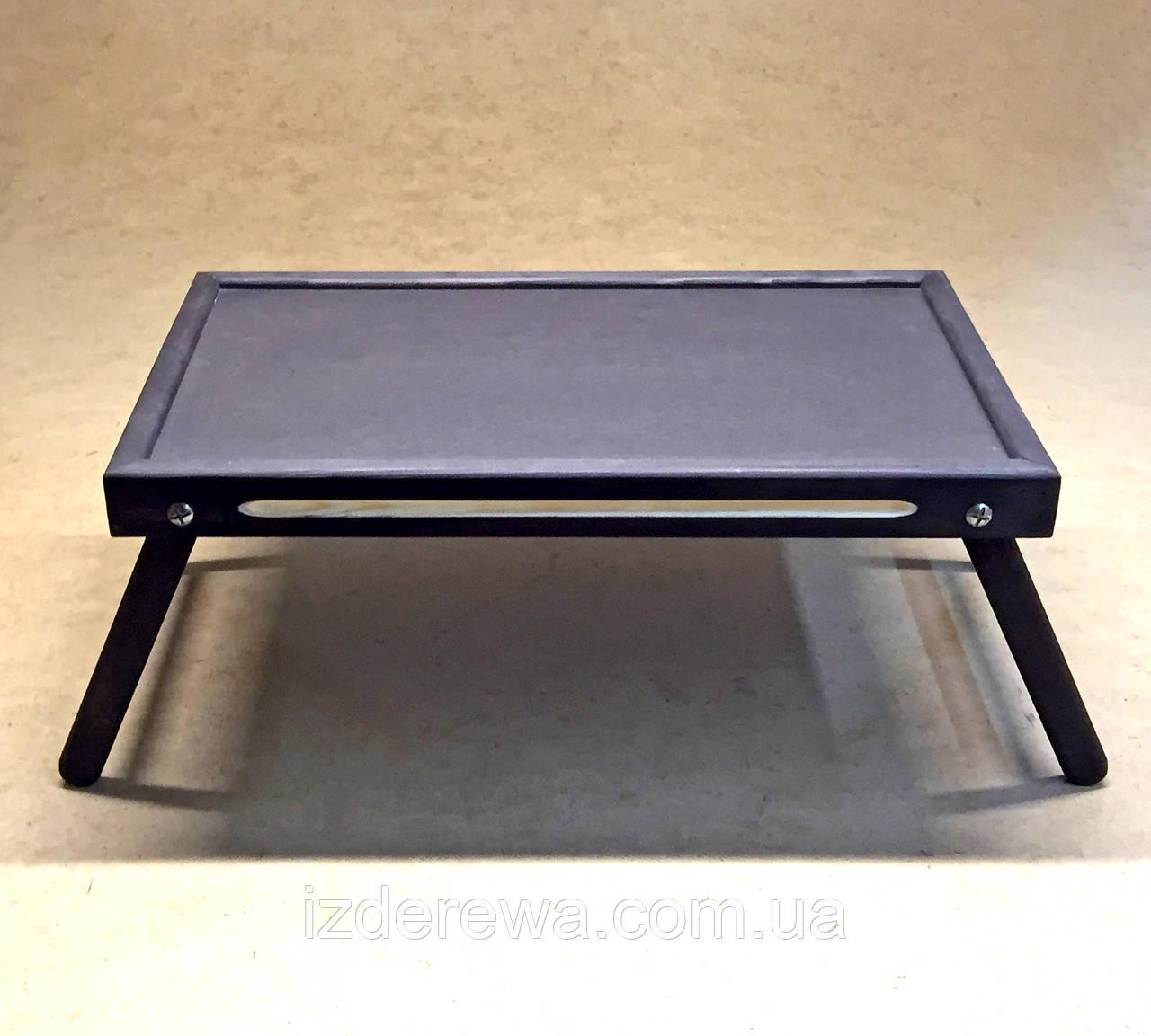 Столик-поднос для завтрака Даллас графит - фото 2