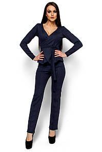 Женский пиджак Karree Хизер, темно-синий