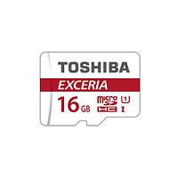 Карта памяти Toshiba microSDHC 16GB Class 10 UHS-I EXCERIA M302+ad U3 R90MB/s