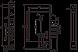 Замок с ручками ПРО-САМ ЗВ9-6/13(КС-70)РФ-002.Ш3.У4, фото 2