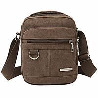 Сумка мужская брезентовая, сумка мужская через плечо Mojoyse