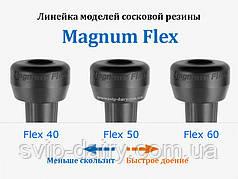 Сосковая резина серии 40/50/60 Magnum Flex