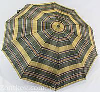 """Зонт полуавтомат """"Burberry"""" в 4-е сложения от фирмы """"Titan"""""""
