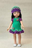 Летнее платье для кукол Paola Reina, 32 см Handmade