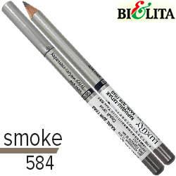 Bielita - Luxury Карандаш-татуаж Kajaal для глаз дерево Тон 584 дымчатый темный, фото 2