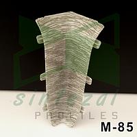 Соединители для плинтуса М-85 IDEAL ЭЛИТ-МАКСИ. Внутренний угол