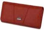 Кожаные женские кошельки Imperial Horse (красный)19*9см