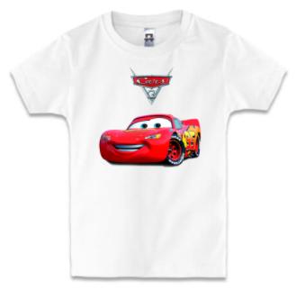 Детская футболка ТАЧКИ 3 - МОЛНИЯ МАКВИН