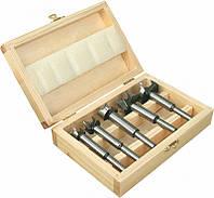 Набор фрез концевых по дереву, 5 шт.(15-35 мм). Качественный и не дорогой инструмент с доставкой.