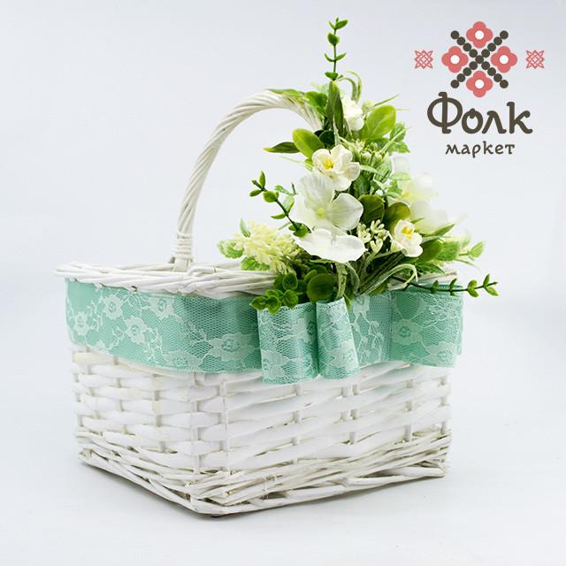 Декорированная корзинка