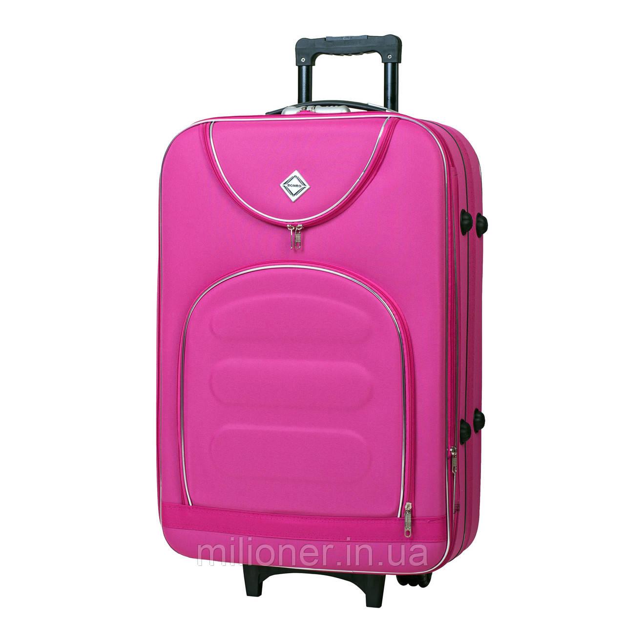 Чемодан Bonro Lux (небольшой) розовый, цена 696 грн., купить в ... 06066670be6