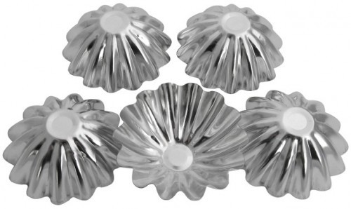 "Набор форм для выпечки ""Кекс""д.7см   4шт Галетте  - 06284"