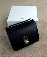 Женская сумка CELINE Classic Box Shoulder Bag Black (7307), фото 1