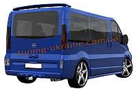 Спойлер на крышу стиль - MAGNUS для Renault Trafic 2001-2014