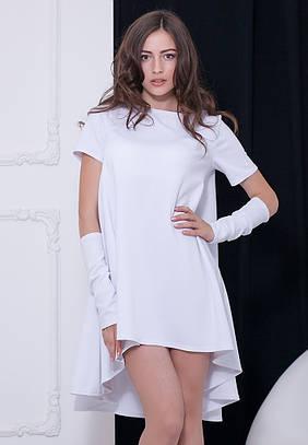 Жіноче біле вечірнє плаття Veronika (XS-XXL)