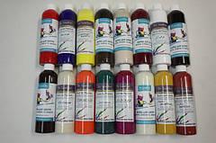 Краска и средства реставрации для мягкой кожи (перчатки, сумки, курточки)