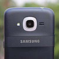 Задняя крышка Samsung J210 Galaxy J2 (2016), синяя, оригинал