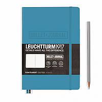 Блокнот LEUCHTTURM1917 Bullet Journal Edition Средний (A5) Холодный Синий (14,5х21 см) (357675), фото 1