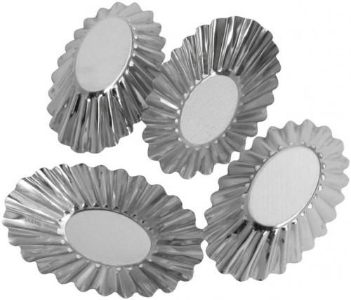 "Набор форм для выпечки ""Кекс""овал   4шт Галетте- 06282"