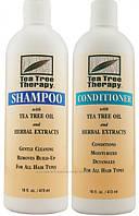 Набор Шампунь & Кондиционер лечебные с маслом чайного дерева * Tea Tree Therapy (США)*