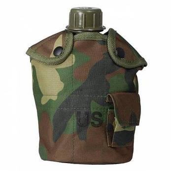 Армейская фляга с подстаканником USA Mil-tec в чехле (1 L) 14506020, фото 2