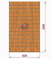 Экспопанель (экономпанель) Н=2440мм, W=1000мм, светлый дуб, фото 1